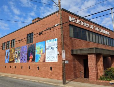UNCG's College of Visual and Performing Arts pairs up with Industries of the Blind for public art installation
