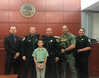 From foster child to adopted son - Boy wants to join CCSO