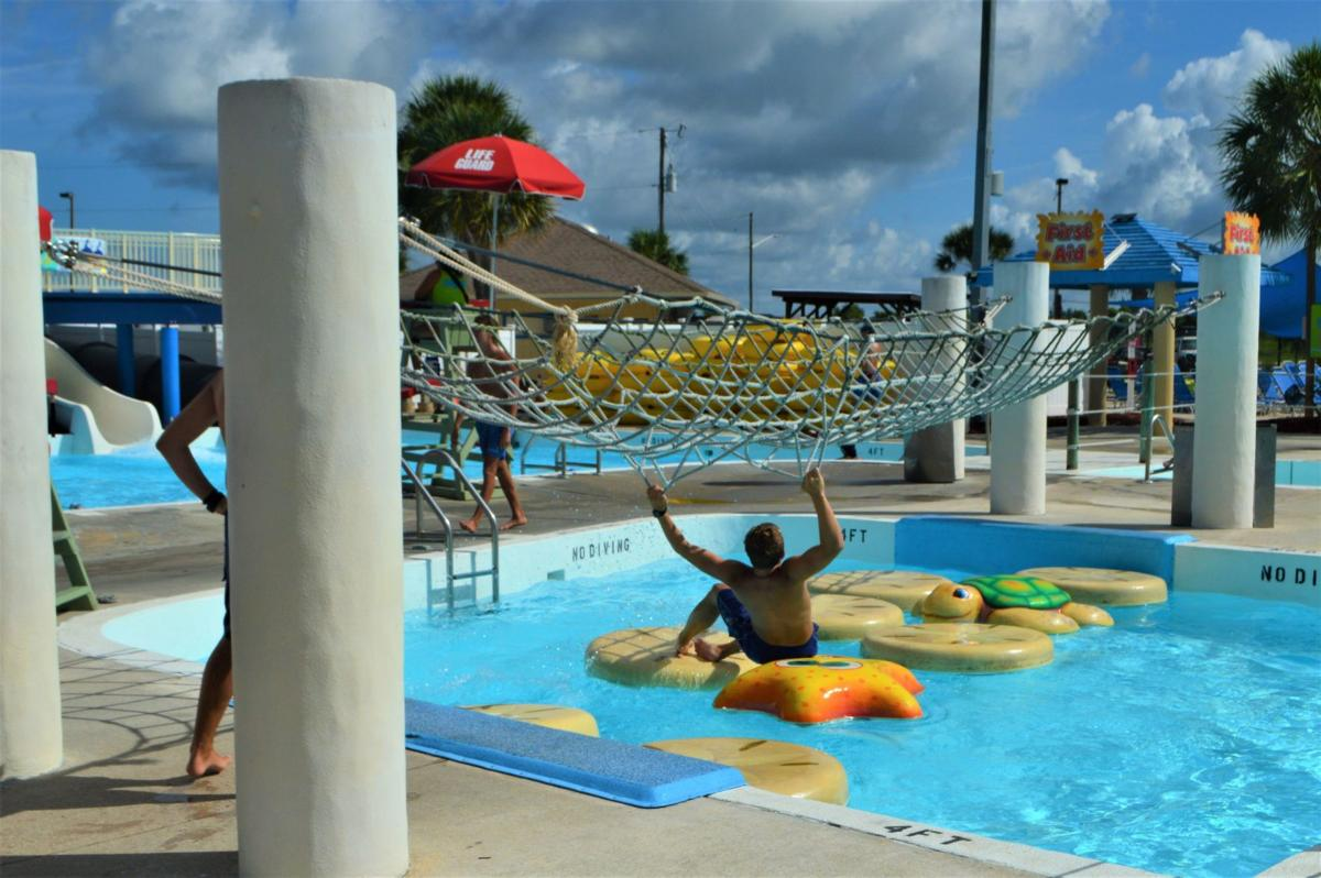 Cooling off at the Sun Splash Family Waterpark