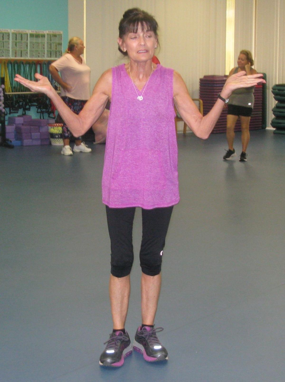 Local fitness instructor launches website