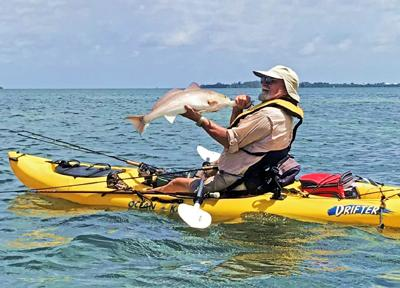 kayak redfish