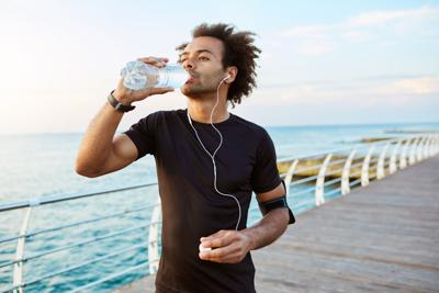 For most people, drinking plain water is the best way to stay hydrated