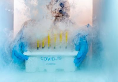 Dry ice, the unsung hero of the COVID-19 vaccine rollout, explained