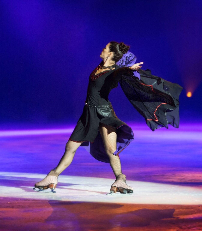 Nancy Kerrigan in Halloween on Ice 2015