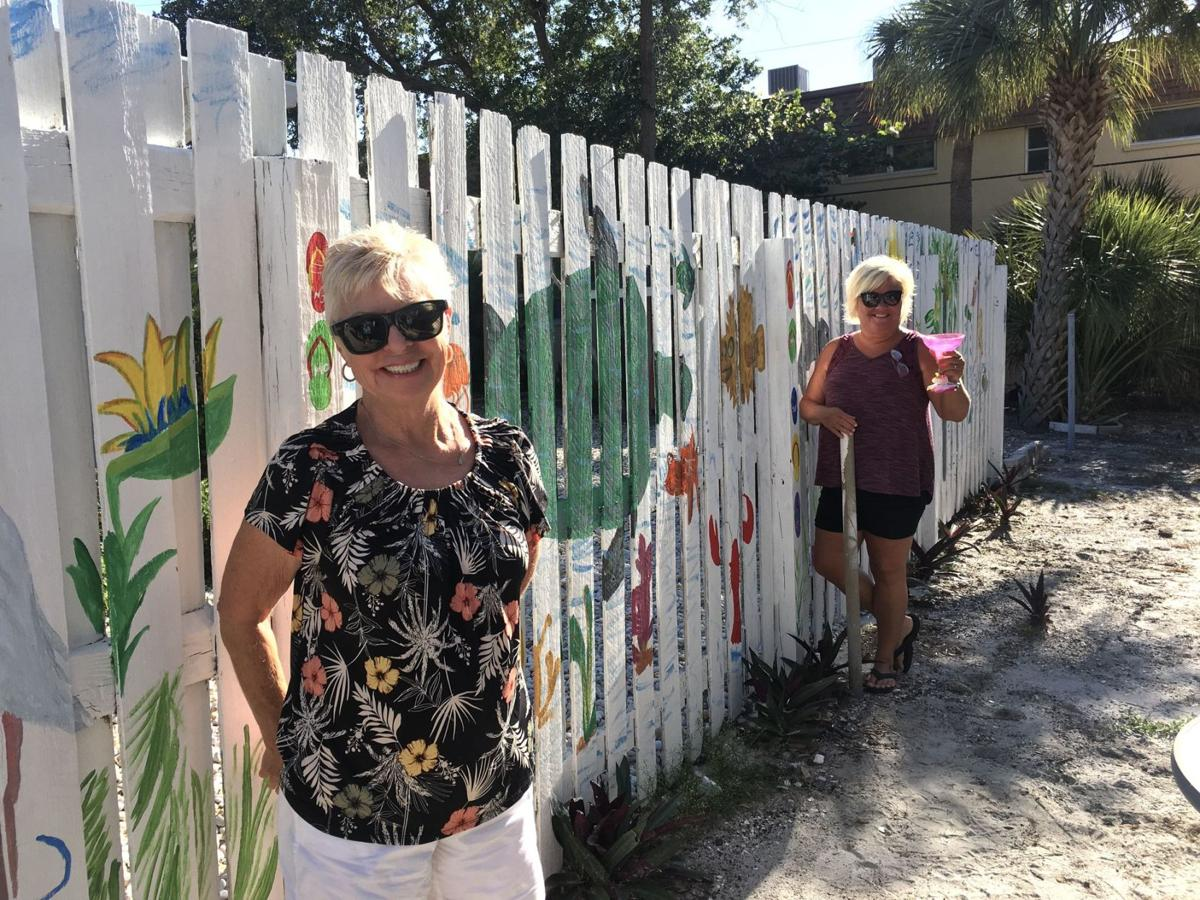 Fence painting 401