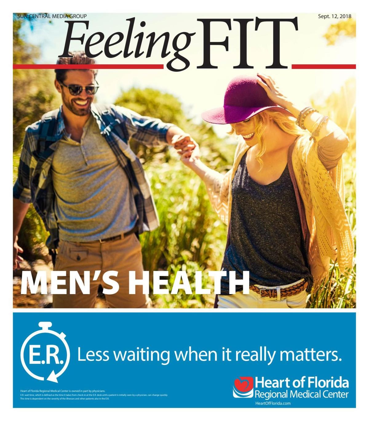 Feeling Fit: Men's Health September 2018
