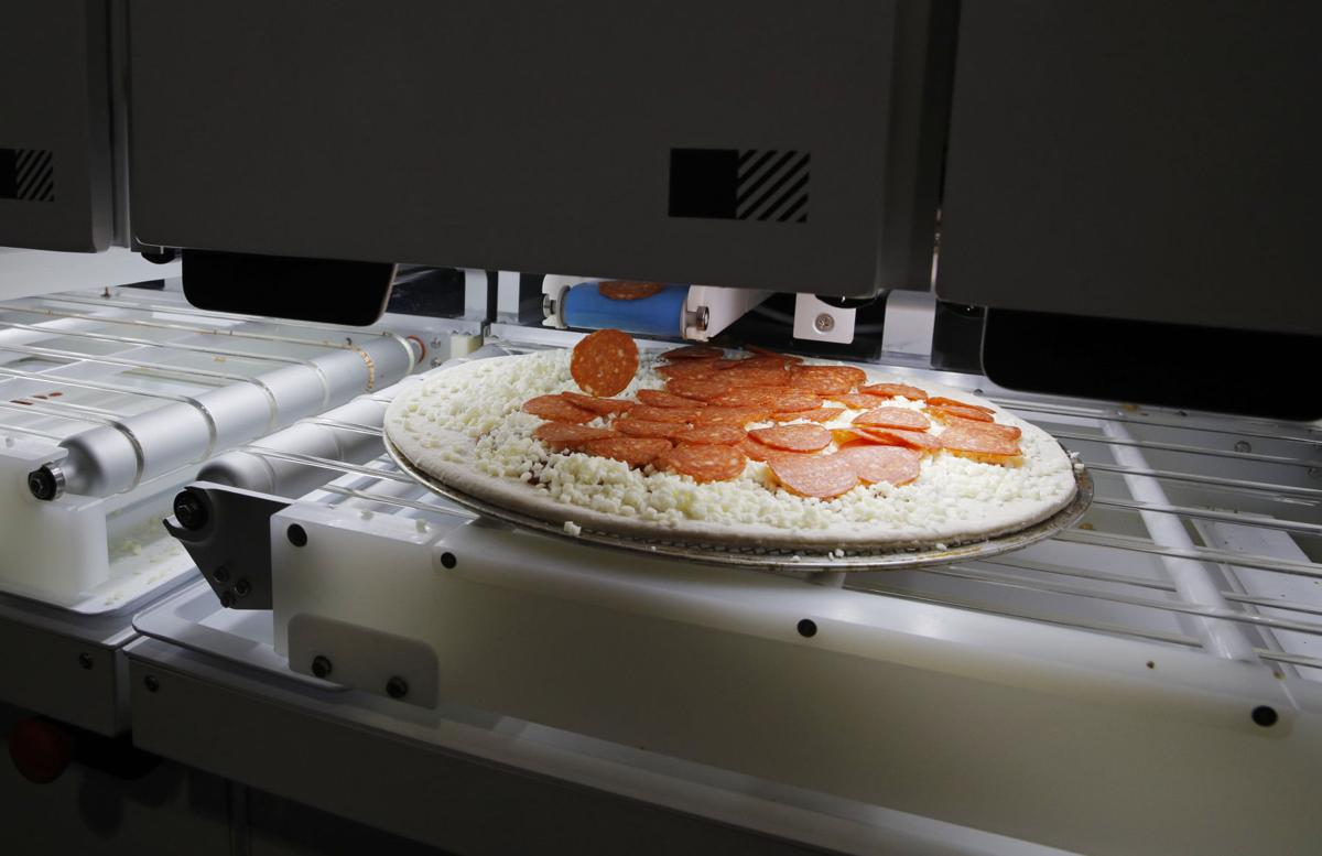 Pizza from robots