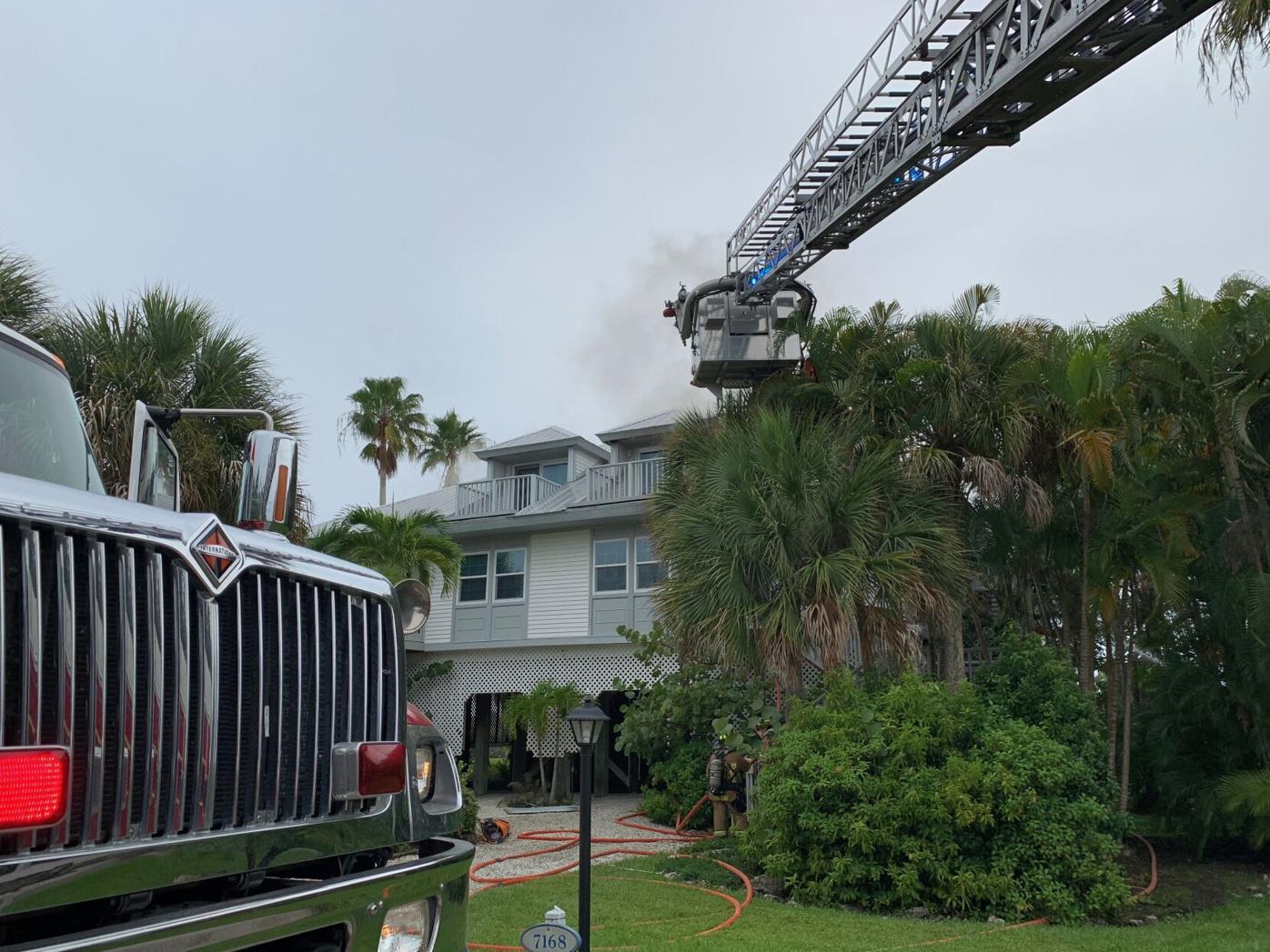 Palm Island fire