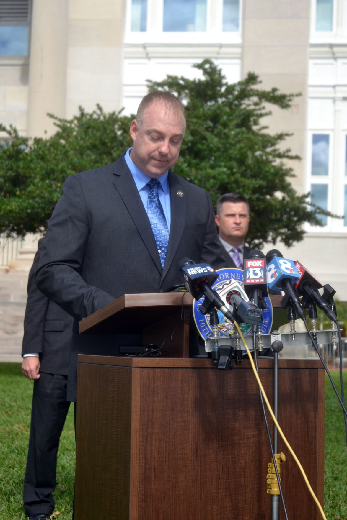 Hoglund talks about the indictment