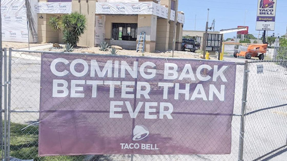Hold onto your cravings: Englewood Taco Bell comes back ...