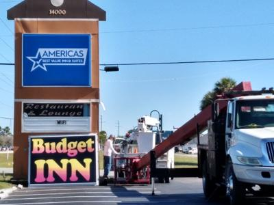 Budget Inn changes management