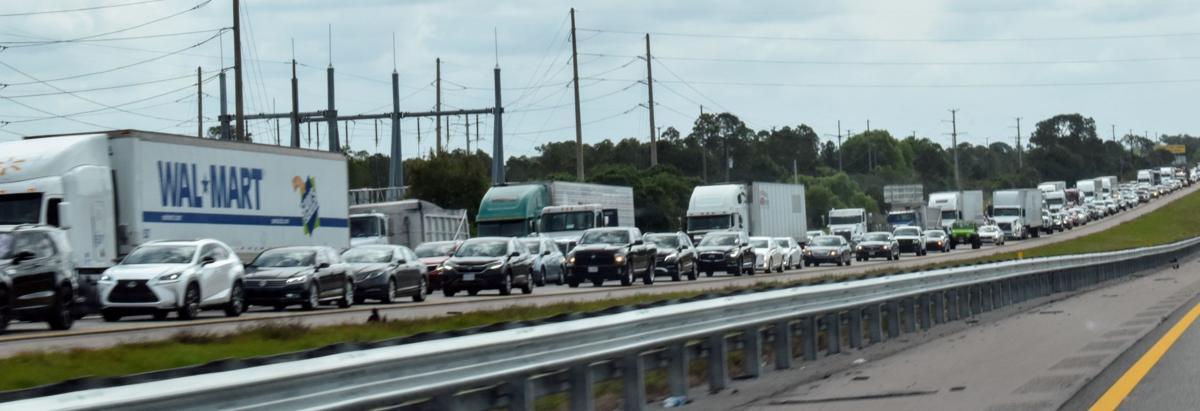 Traffic on Kings Highway
