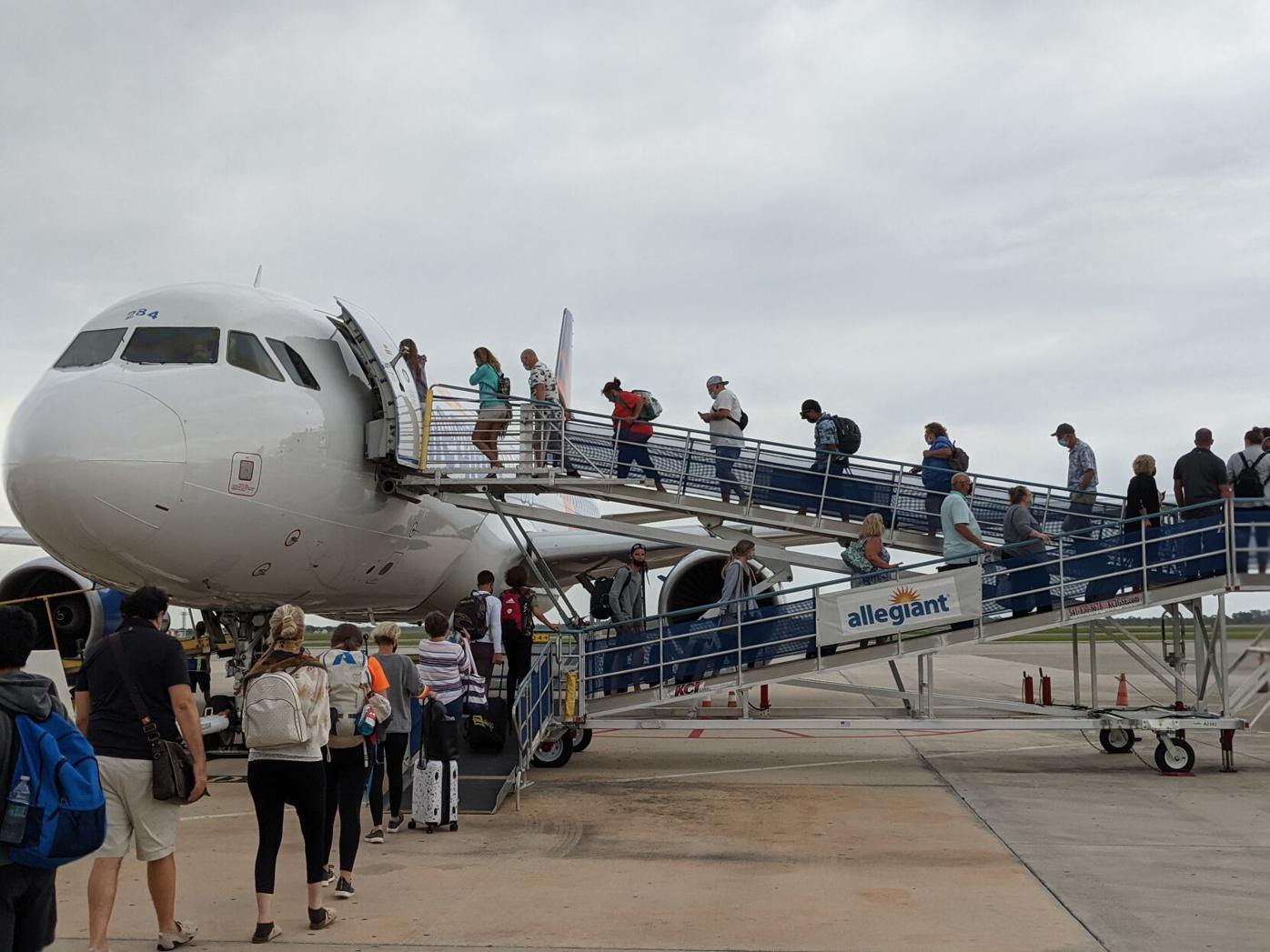 Allegiant at Punta Gorda Airport