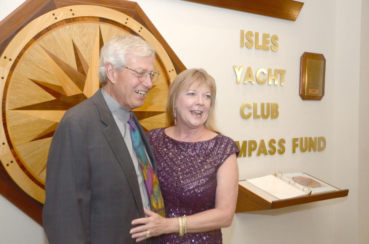 Isles Yacht Club celebrates annual Change of Watch