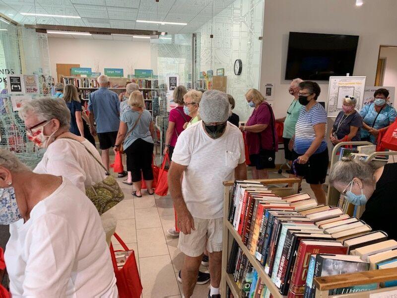 Book sale day 1