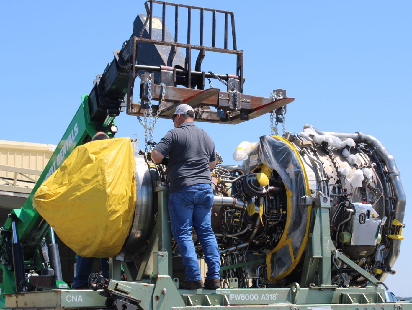 CTC receives $2 million airplane engine