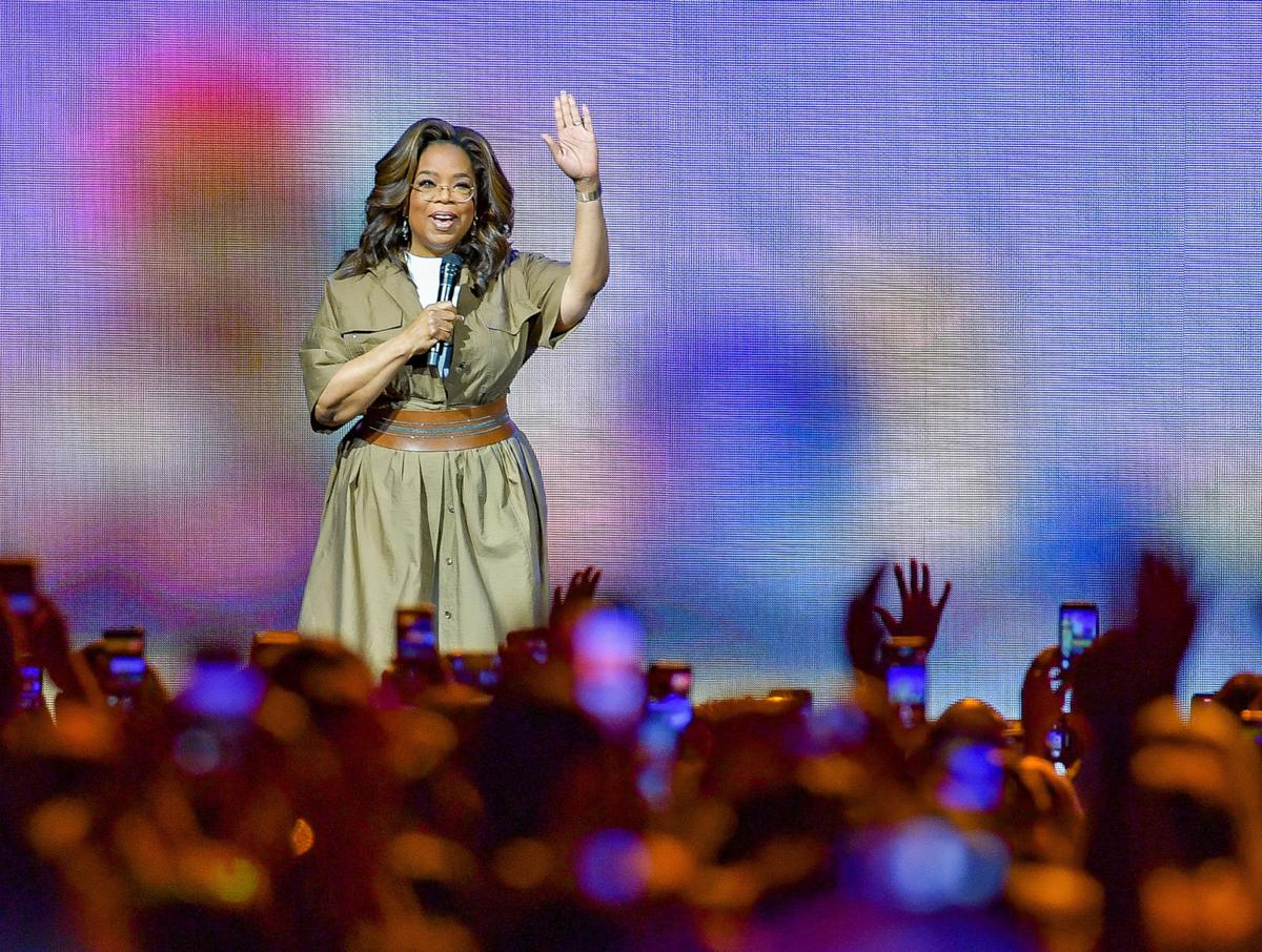 Oprah gives South Florida fans her top 5 inspirational health tips to kick off 2020