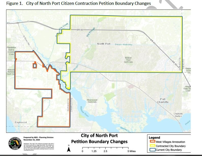 Petition Boundary Change Map