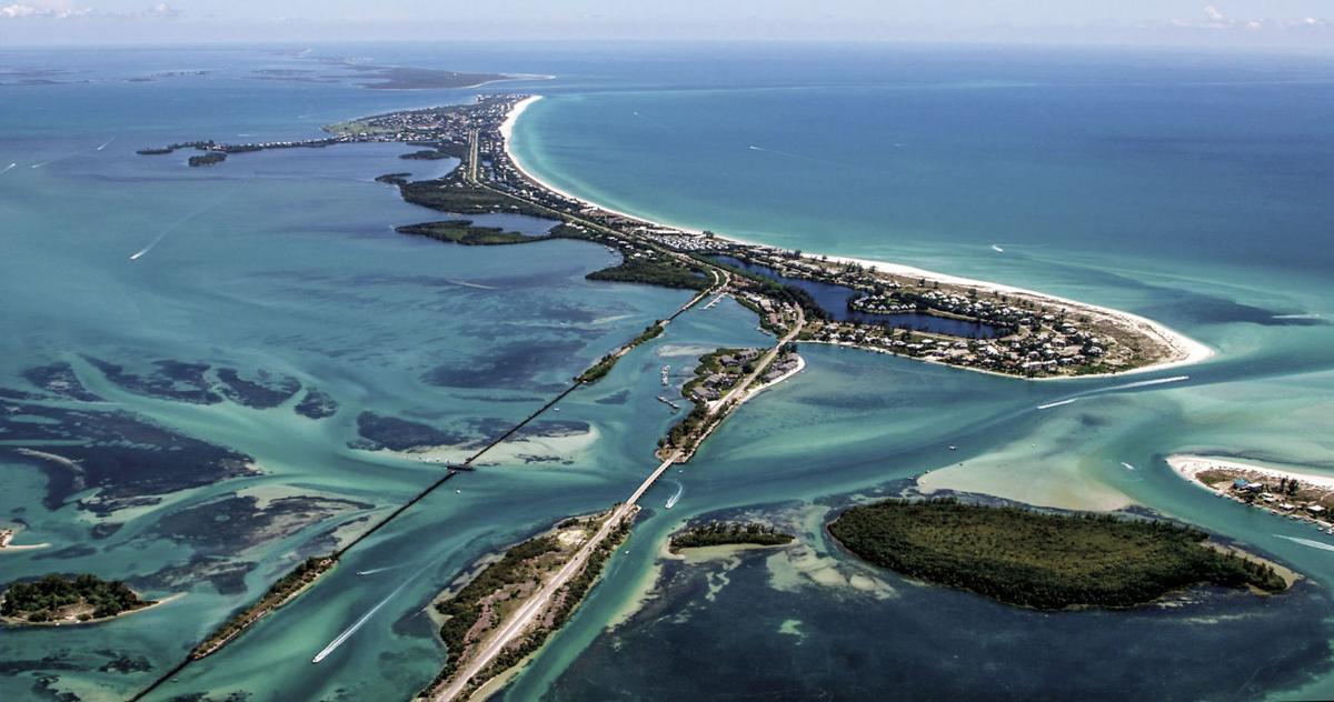 Aerial of Boca Grande