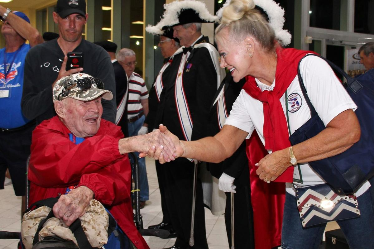 Southwest Florida Honor Flight takes off on its 23rd mission