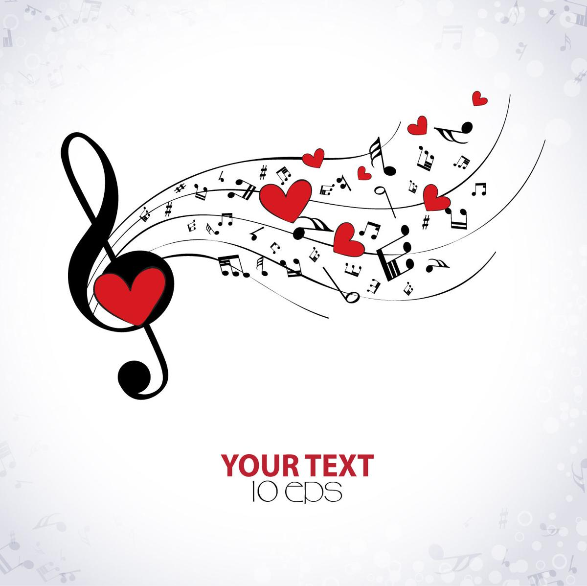 Say 'I love you' with music