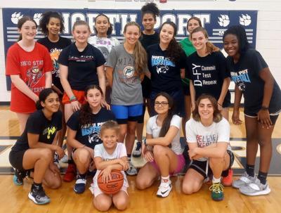 North Port High School girls basketball team