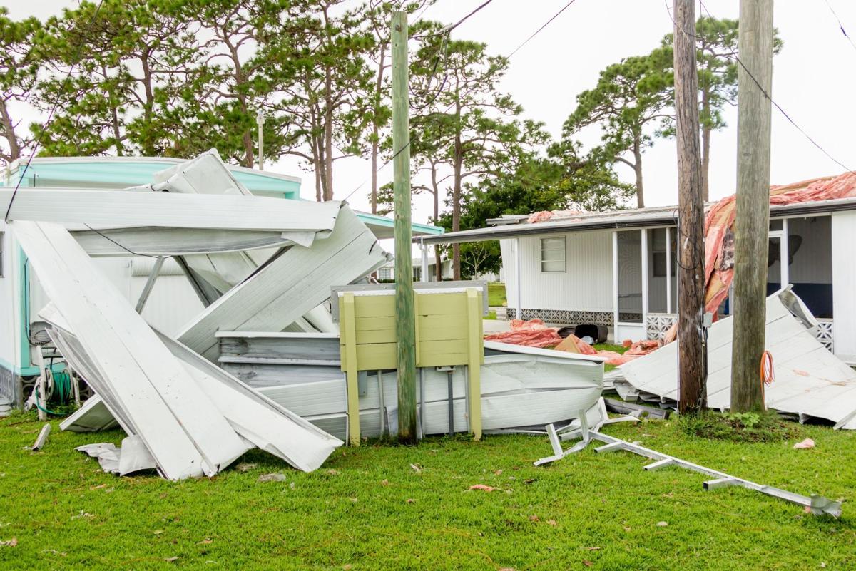 Hurricane Irma damage in Venice