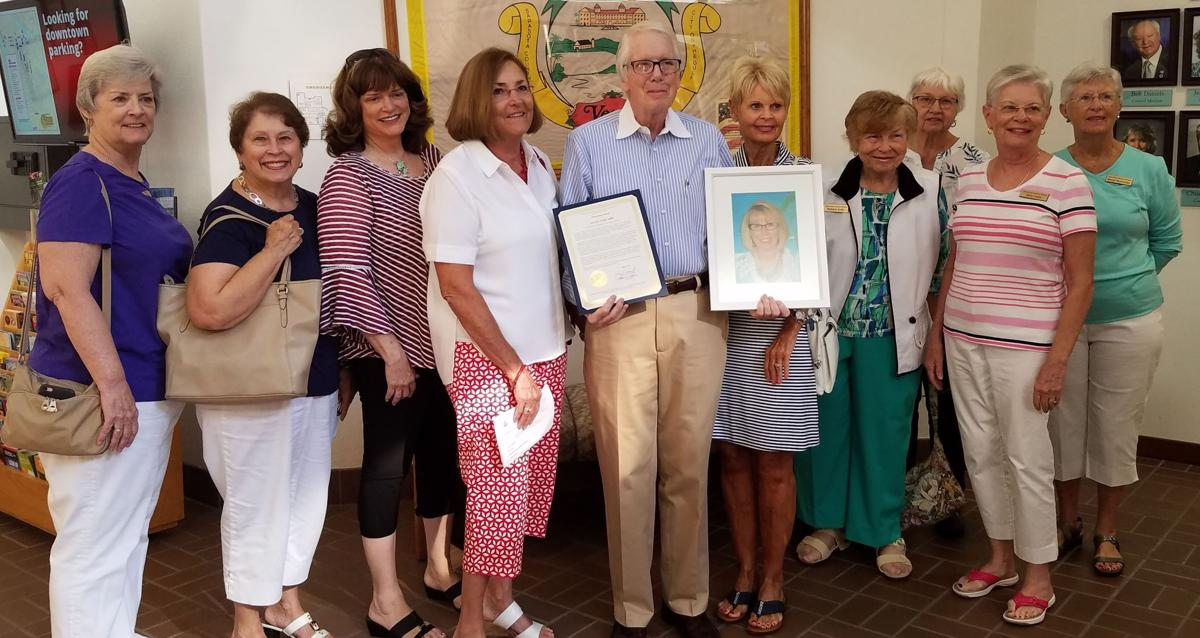Honoring the late Carolyn Redlin