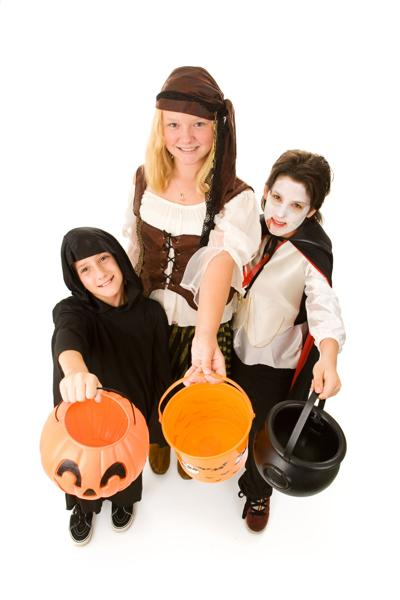 Improve visibility while trick-or-treating