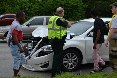 Car bashed in by hit and run