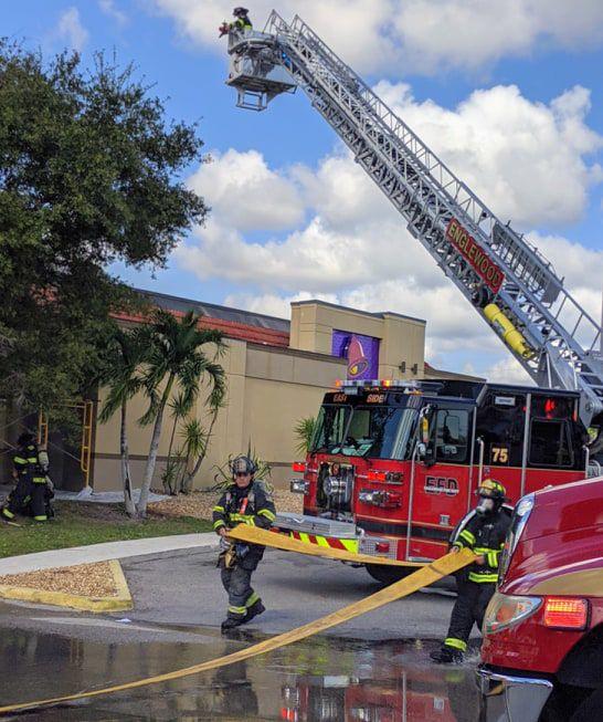 Fire burns Englewood Taco Bell | West Villages Sun ...