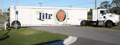 Beer truck brews up traffic troubles