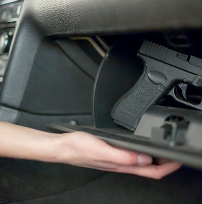gun glove box