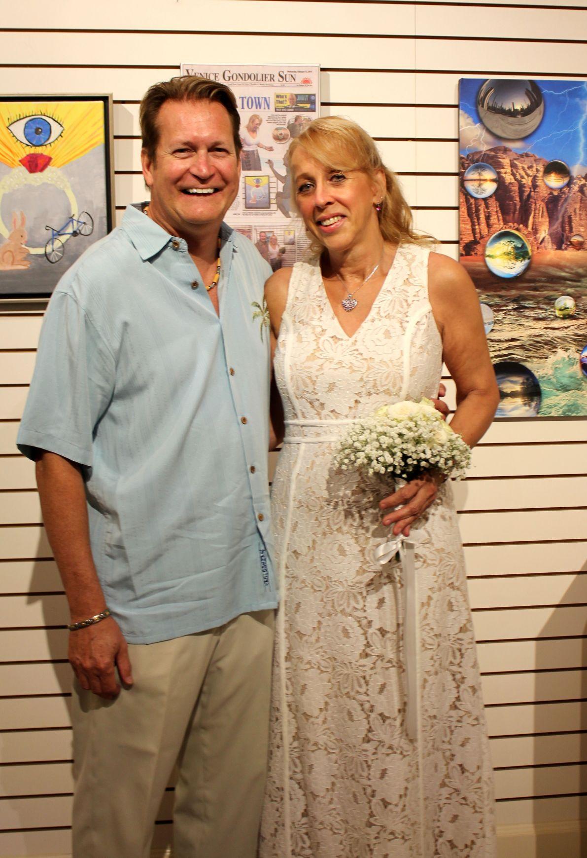 Anthony Riskalla and Wilhelmina de Haas