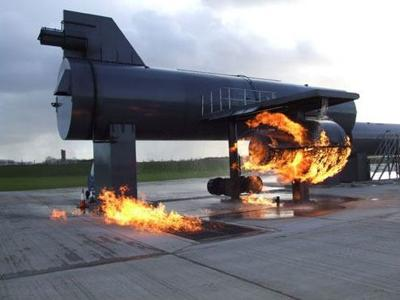 airplane fire trainer