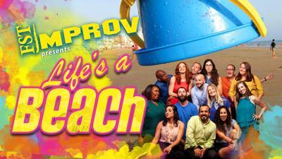 Florida Studio Theatre's Improv team presents 'Life's A Beach'
