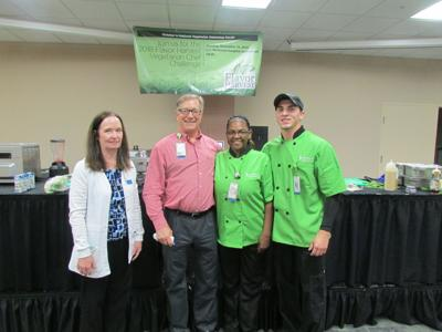 Vegetarian Chef Challenge aims to inspire healthier food choices