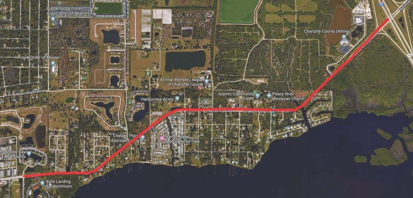 Harborview Road widening project