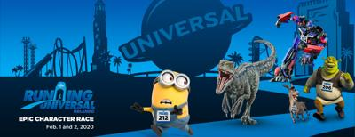 Run Universal's inaugural Epic Character Race 5K and 10K weekend