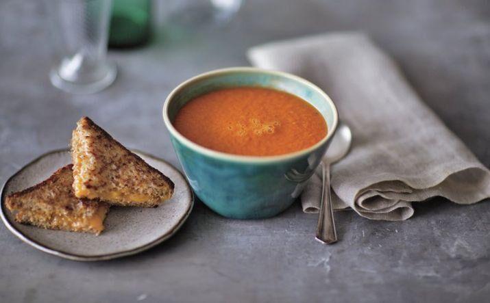 Dairy-free creamy tomato soup.