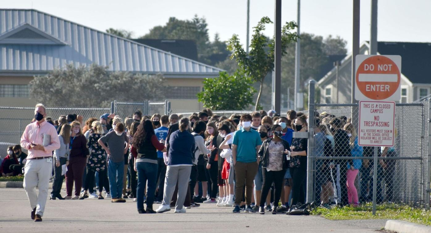 Punta Gorda Middle School evacuated