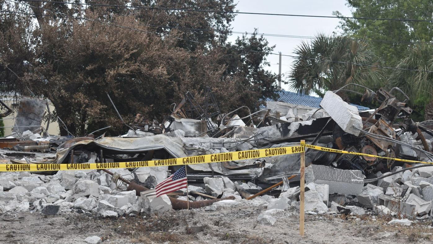 South Venice fire, explosion