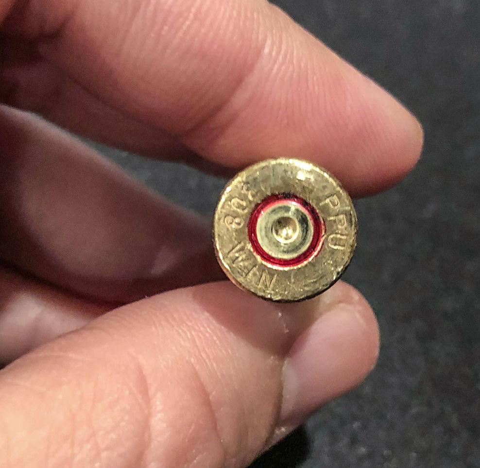 firing pin dent