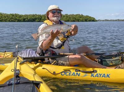 kayak redfish