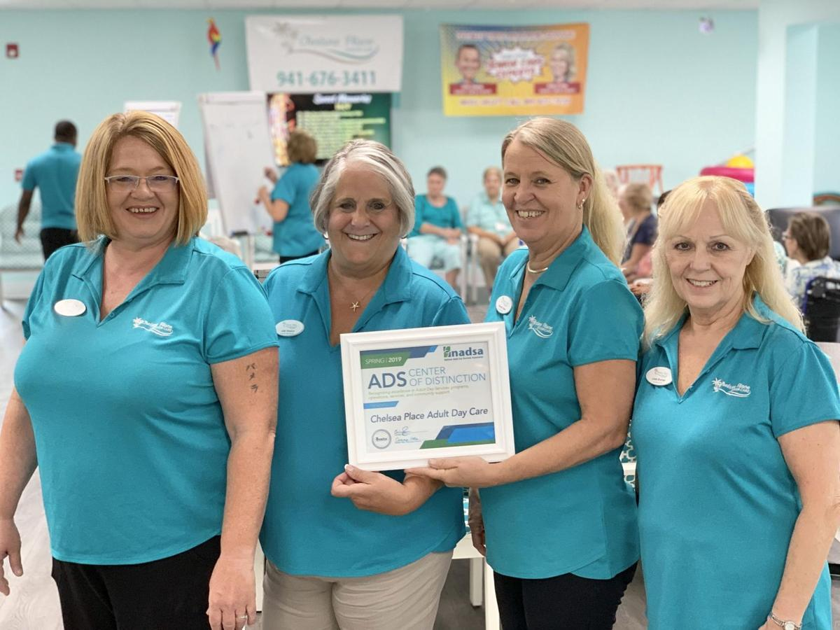 Chelsea Place Adult Day Care receives Center of Distinction honors