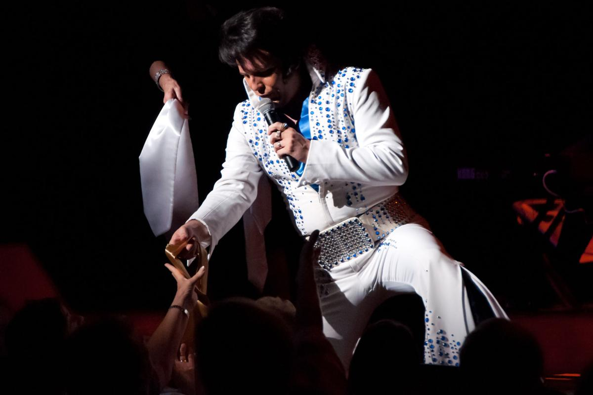 Grab your Blue Suede Shoes and get ready to be All Shook Up with Dwight Icenhower's Tribute to the King