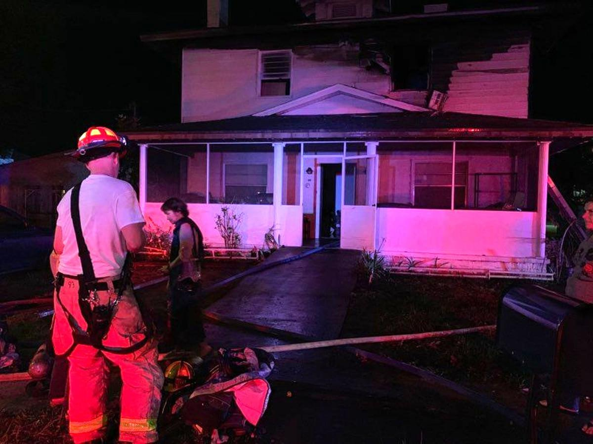 Picking up after a house fire
