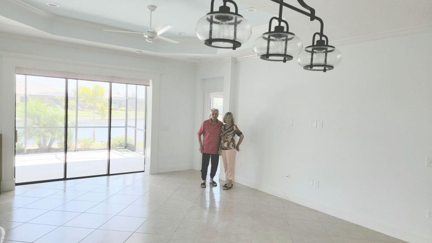 A big empty home