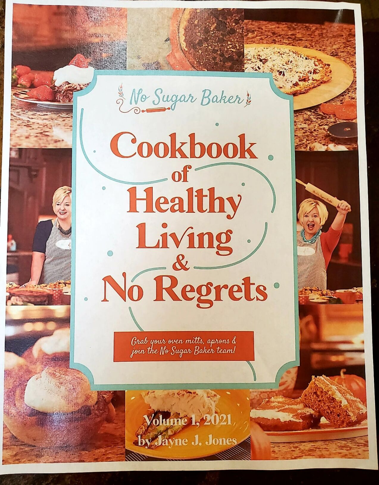 No Sugar Baker cookbook
