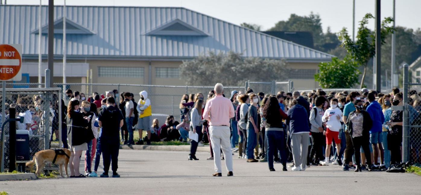 Punta Gorda Middle School evacuated Monday morning